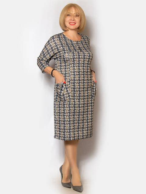 Платье в принт LibeAmore 5200951