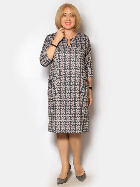 Платье в принт LibeAmore 5200954