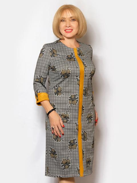 Платье в принт LibeAmore 5200956