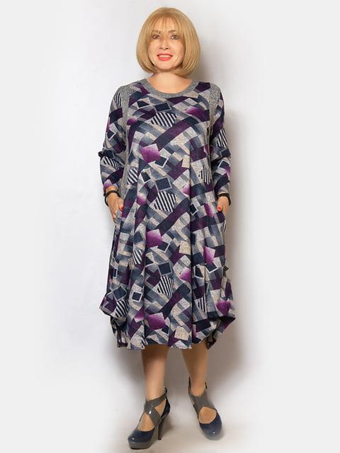 Платье в принт LibeAmore 5201025