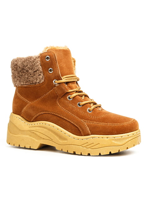 Ботинки рыжие Ideal 5200190