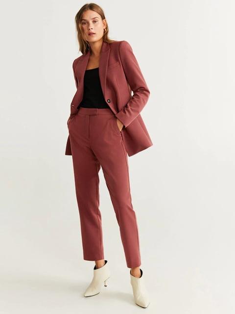 Штани червоно-рожеві Mango 5201553