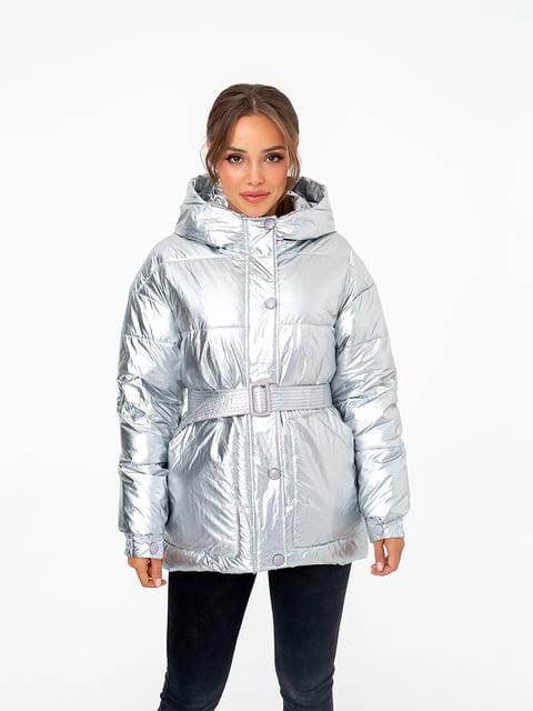 Куртка срібляста White Fox 5201777