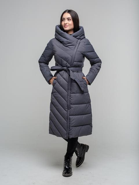 Куртка сіра White Fox 5201778