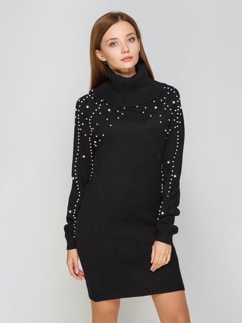 Платье черное M & D Fashion 5199306