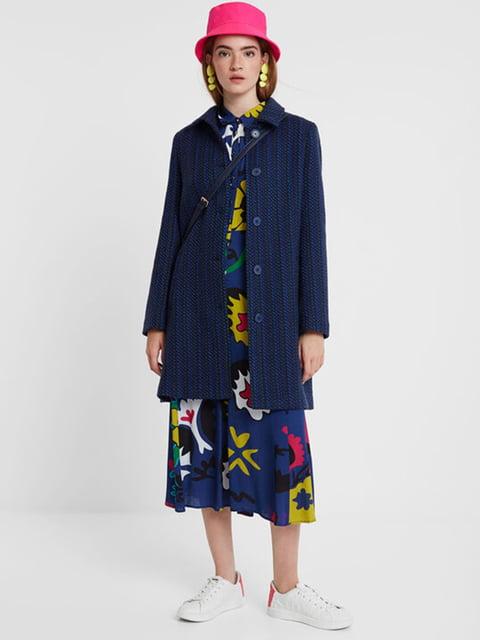 Пальто синє Desigual 5185598