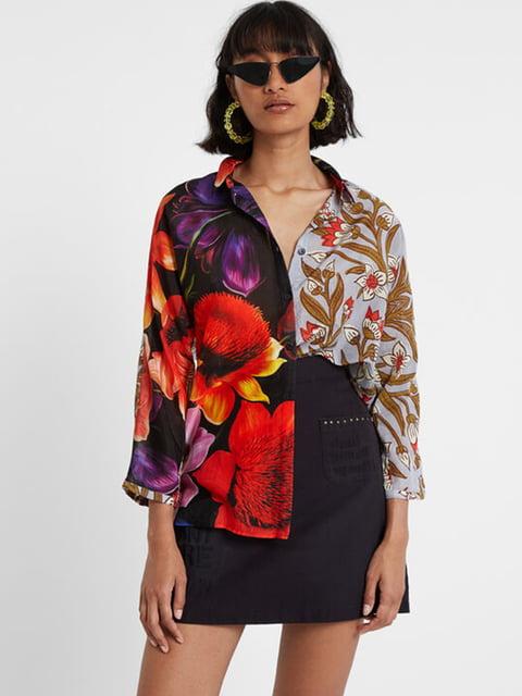 Рубашка в цветочный принт Desigual 5196455