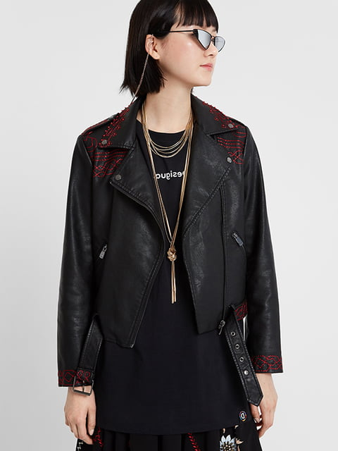 Куртка черная Desigual 5196459
