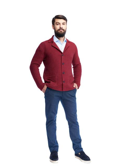 Пиджак бордовый G-Rom 5203141