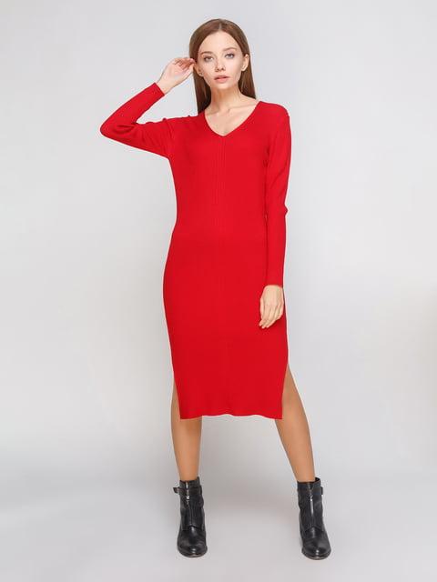 Платье цвета спелой вишни MC LORENE 5199205