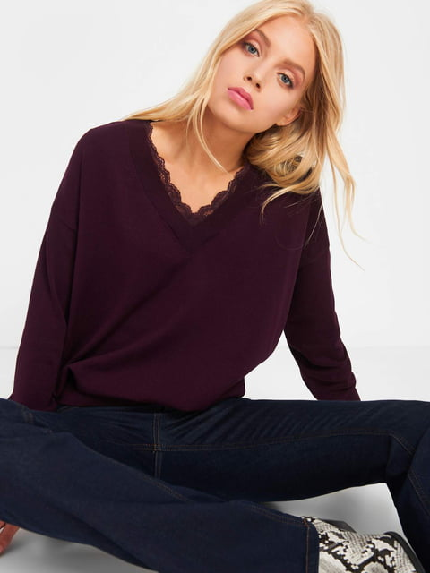 Пуловер фіолетовий Orsay 5203229