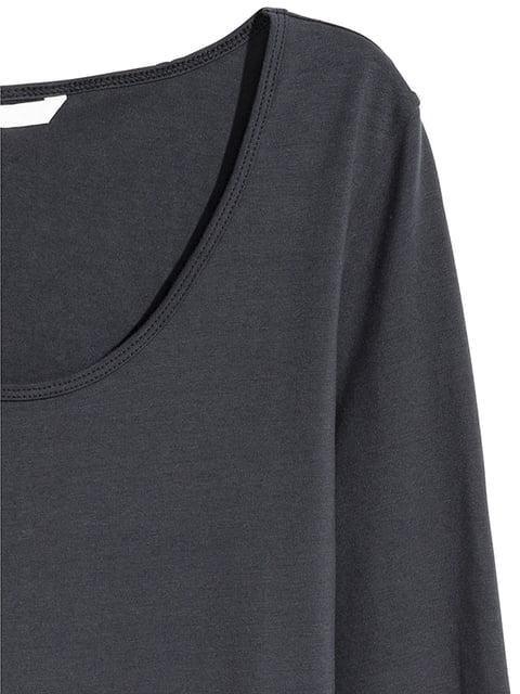 Сукня темно-сіра H&M 5197454
