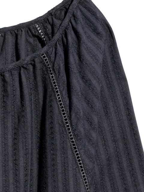 Блуза черная H&M 5197470