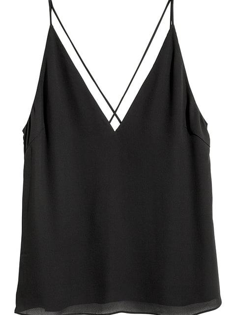 Топ черный H&M 5197503