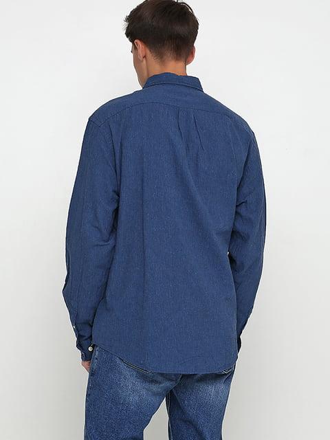 Рубашка синяя H&M 5197554