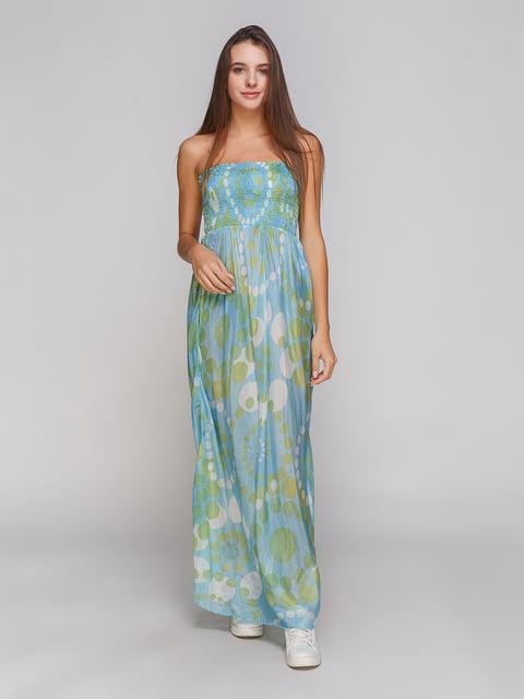 Сукня бірюзова Absolut joy 4665266
