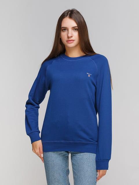 Свитшот синий Gant 5201529