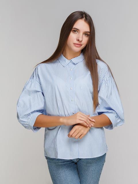 Рубашка голубая Koton 4583974