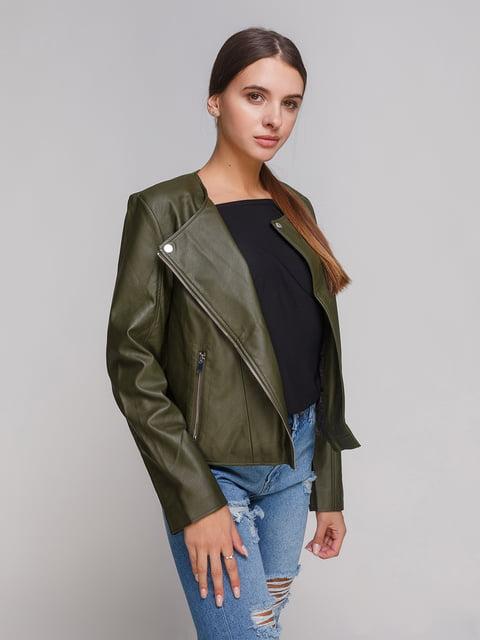 Куртка цвета хаки Mango 3979201