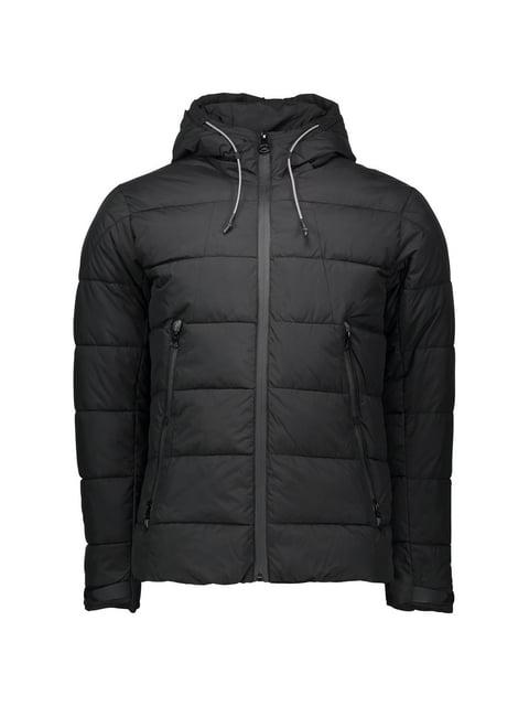 Куртка чорна Piazza Italia 5198707