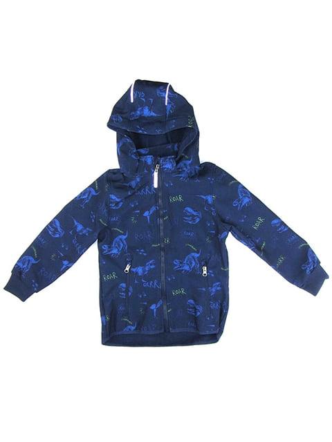 Куртка синяя с принтом H&M 5203809