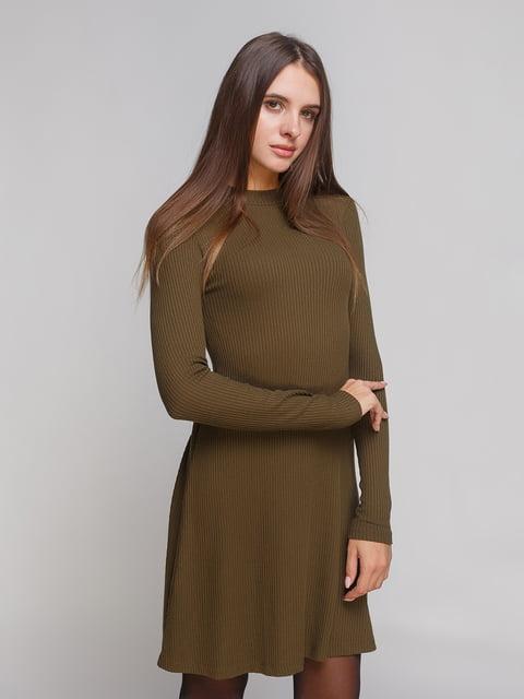 Сукня кольору хакі Lefties 4621575