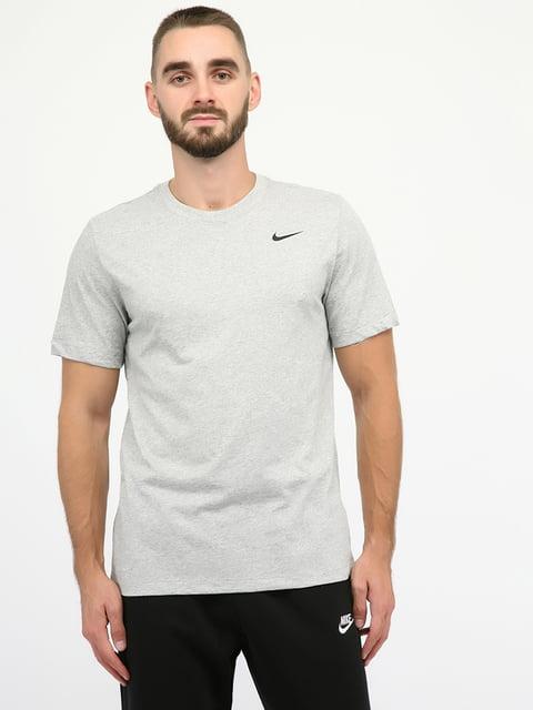 Футболка спортивна сіра Nike 5204811