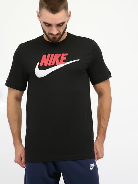 Футболка спортивна чорна Nike 5204813
