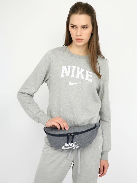 Сумка на пояс сіра Nike 5204816
