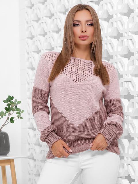 Светр рожевий MarSe 5205594