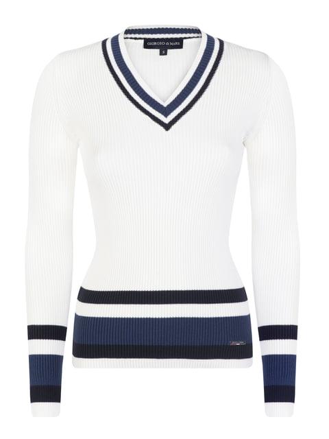 Пуловер белый Giorgio di Mare 5206847