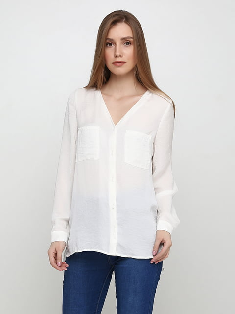 Блуза молочного цвета H&M 5197411
