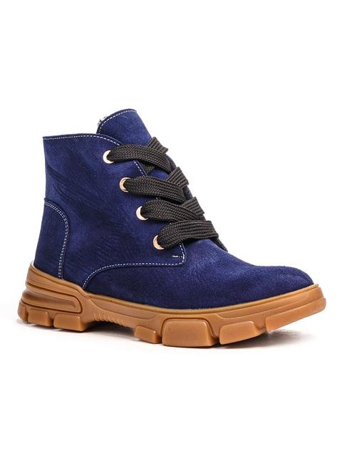 Ботинки синие Fabiani 5202899