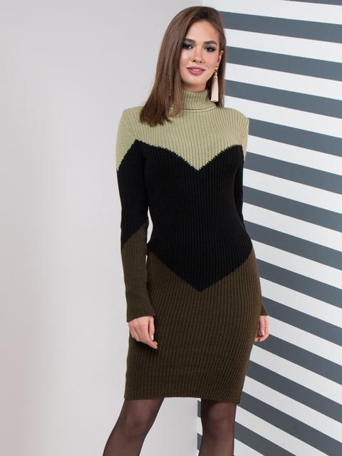 Сукня триколірна GUASH 5204618
