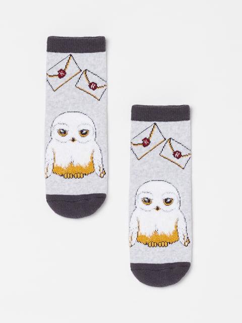 Шкарпетки сірі в принт Oviesse 5183583