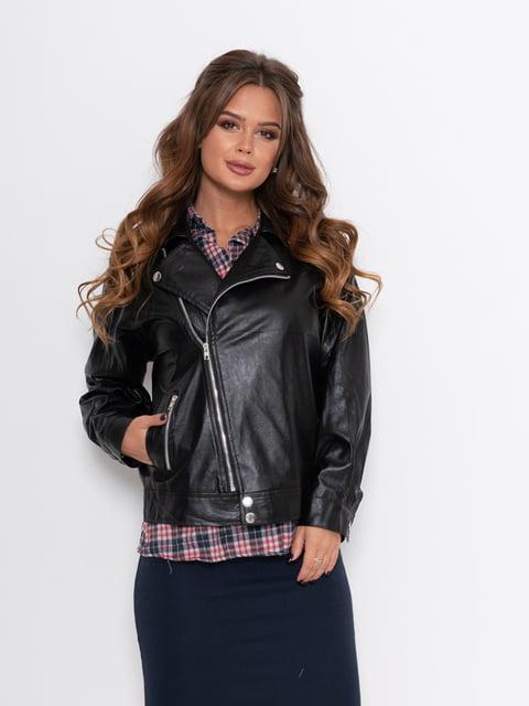 Куртка кожаная черная Magnet 5200586