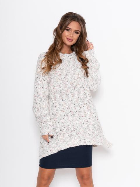 Пуловер білий Magnet 5200647