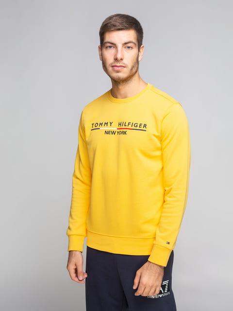Свитшот желтый Tommy Hilfiger 5204852