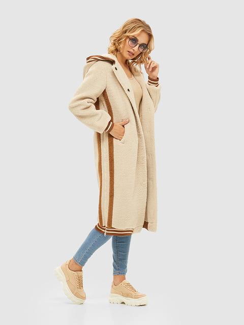 Пальто бежевое Mila Nova 5209520