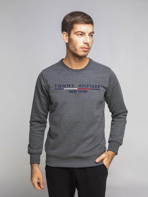 Світшот темно-сірий Tommy Hilfiger 5204849