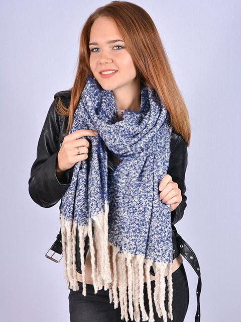 Шарф синій Fashion Look 5209549