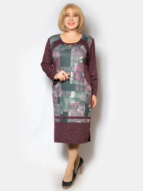 Платье бордовое LibeAmore 5210095