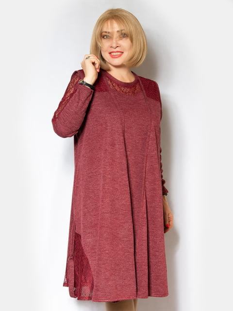 Сукня бордова LibeAmore 5210155