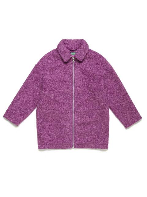 Пальто бузкове Benetton 5211553