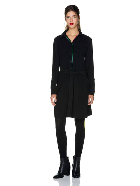 Сукня чорна Benetton 5211693