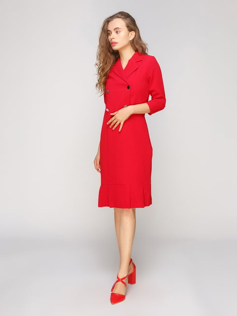 Сукня червона SassofonoClub 5208368