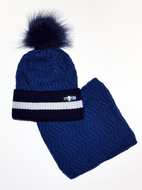Комплект: шапка і шарф-снуд Vertex 5211827