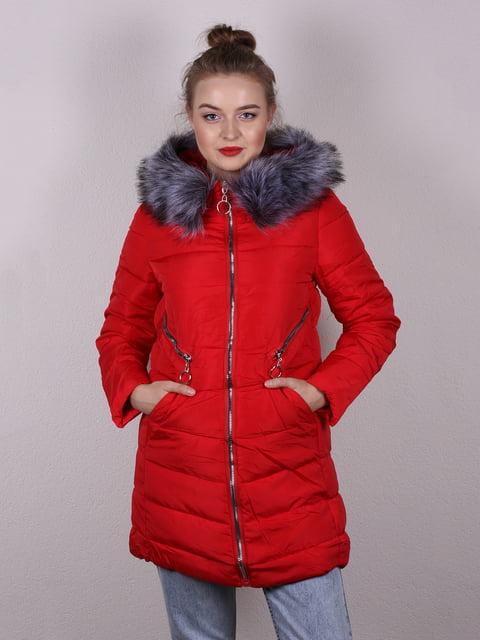 Пальто червоне Kuyingying 5205106