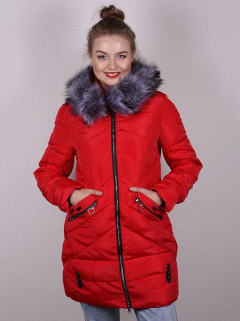 Пальто червоне E.LanwRi 5205251