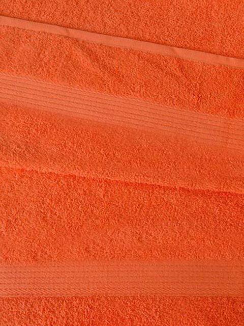 Полотенце махровое оранжевое Elines 5213034